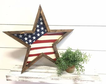 Beau Wood Stars   Fourth Of July Decor   Americana Decor   Star Decor   Rustic  Home