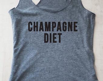 Champagne Diet Tank
