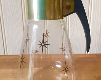 Vintage 1950s glass pyrex jug