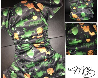 Dinosaurs OS Pocket diaper
