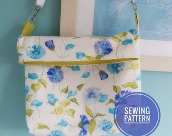 Grace Reversible Messenger Bag Sewing Pattern