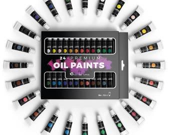 Art Supplies Oil Paint Set