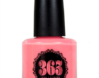 Neon Coral Pink Nail Polish - Anthias