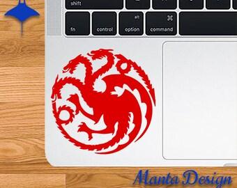 Game of Thrones House Targaryen Sigil Vinyl Decal