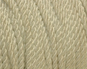 Vintage White Rope Trim