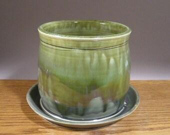 Stoneware Planter , Planter , Handmade Pottery Planter , Pottery Planter , by Jon Whitney Pottery