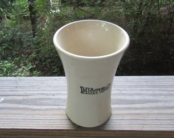 hires root beer handled stoneware mug