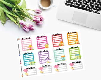 HOUSE CHECKLIST Planner Stickers CAM00080