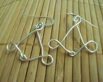Duchess of Finesse Fine Silver Earrings Wire Earrings