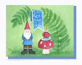 This Wish is for You Birthday Gnome