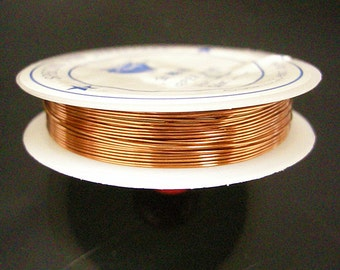 1 roll 9 meters chocolate brass wire 0.6mm gauge 23 thickness-7692