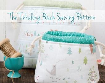 Tinkalong Pouch digital PDF sewing pattern