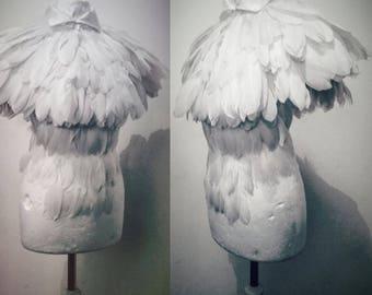 Feather pelerine
