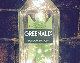Greenall's Gin Light, Battery operated, LED