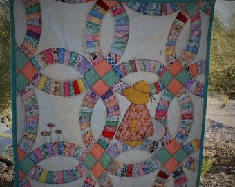 Little Sunbonnet Sue Quilt