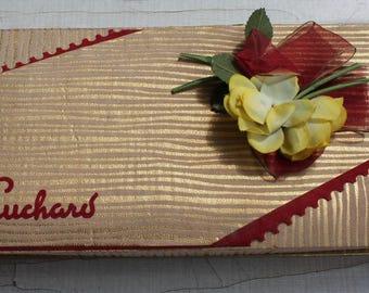 Chocolate Box Suchard 50s 60s 50s 60s 70s vintage antique Giftbox