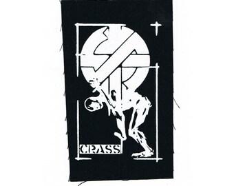 Crass Punk Patch