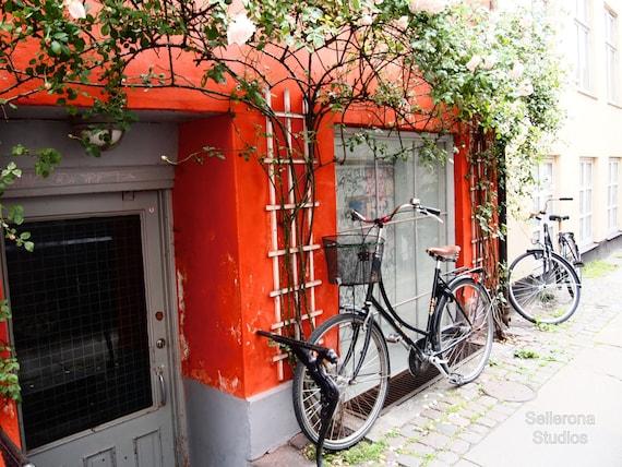 Red Bikes in Copenhagen