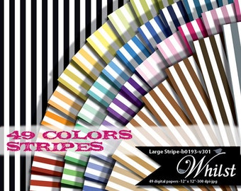 Stripe digital paper scrapbook geometric background  : b0193C v301 IP