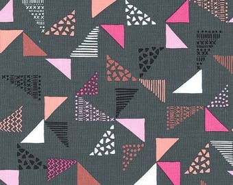 Michael Miller Fabric  - Just Right - Gray - CX7380 - Cotton fabric by the yard(s)