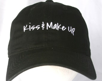Kiss & Make Up (Polo Style Ball Black with White Stitching)