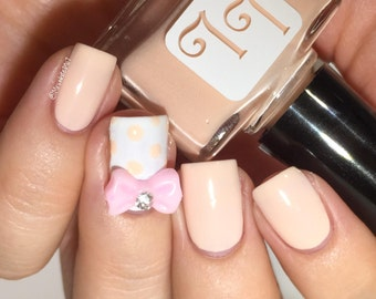 Peachy Fig by Lucky Lacquer, 5-Toxin Free Nail Polish