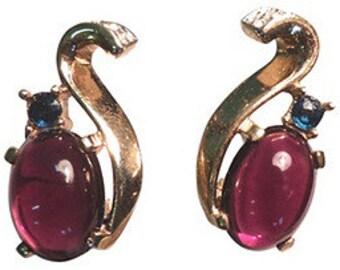 Trifari Jelly Belly Earrings