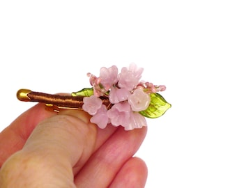 flower bouquet brooch, flower pin pink, boutonniere wedding lapel pin flower, wedding boutonniere, bouquet of flowers pin, vintage brooches