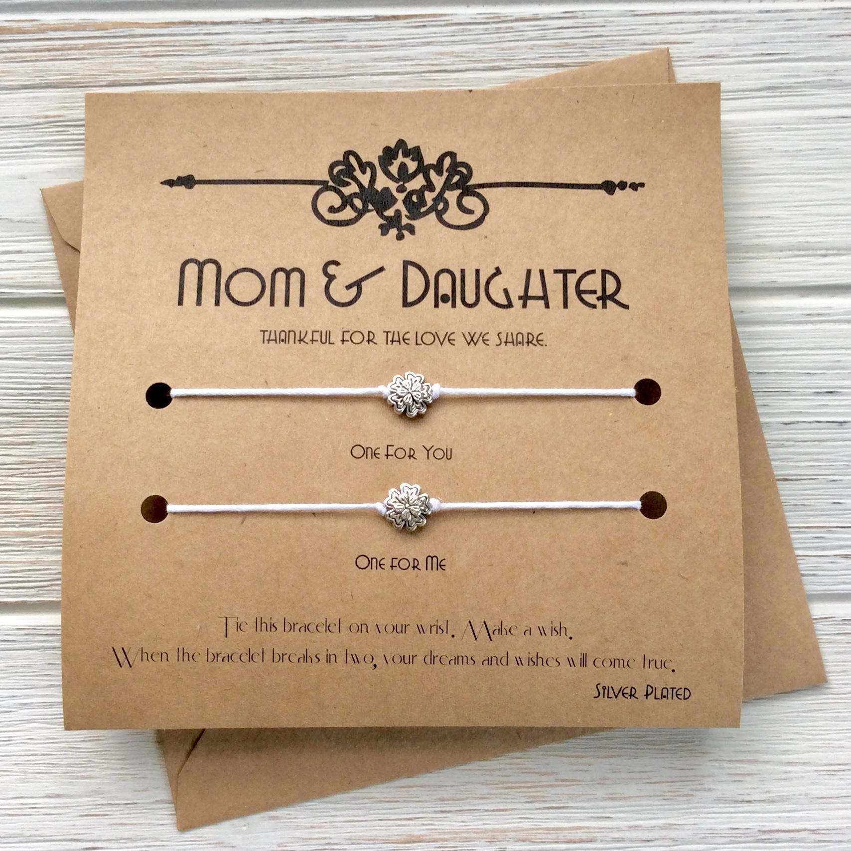 Mom Birthday Gift Mothers Day Card