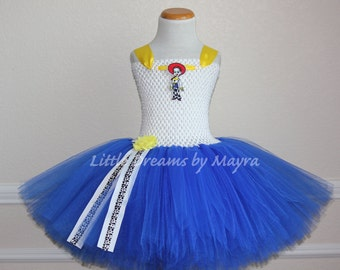 Jessie Toy Story inspired tutu dress, Jessie The Yodeling Cowgirl inspired costume, Toy Story inspired birthday outfit size nb to 12years