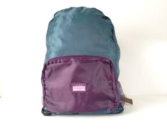 vintage backpack COLOR BLOCK fresh prince oxford simple classic 90s backpack book school bike bag
