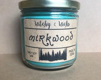 Mirkwood 100% Soy Wax Candle
