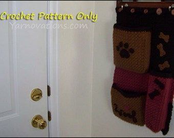 Dog Pocket Organizer - CROCHET PATTERN