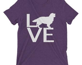 LOVE Dog Short sleeve t-shirt