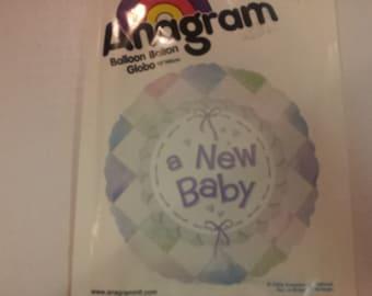 a new baby balloon,baby shower balloon,mylar balloon, party supplies