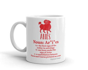 Aries Star Sign Mug