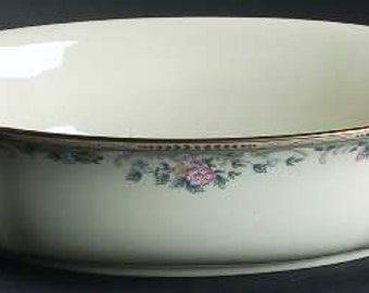 "10"" Oval Vegetable Bowl"