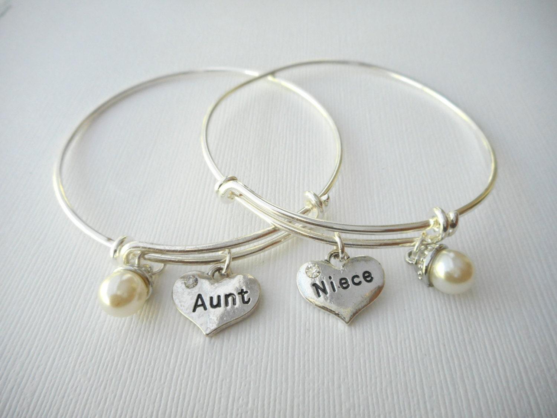 Ben noto 2 zia e nipote braccialetti di perle migliore amico / zie XX11