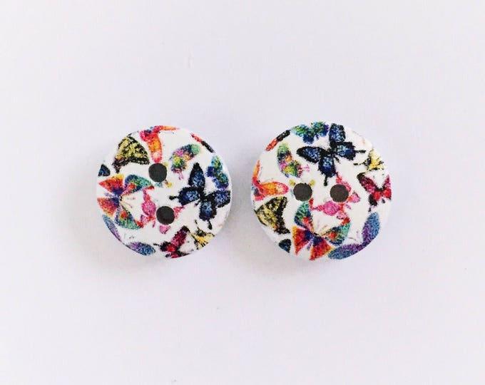 The 'Tia' Button Earring Studs