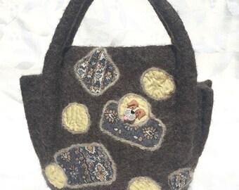 Handmade Wool Handbag
