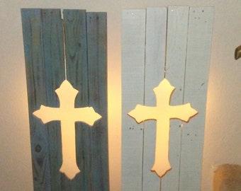 Handmade LED Crosses