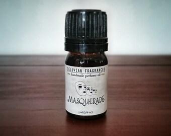 Masquerade • natural handmade perfume oil • 5 ml (1/6 oz)