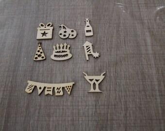 wood birthday subjects