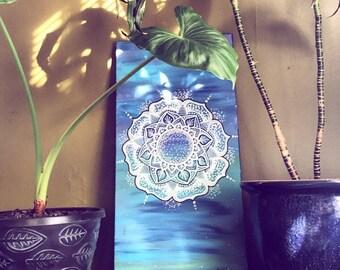 blue dream // original acrylic