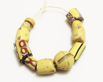 Antique African Trade Beads ,venetian Beads, Ethnic Beads (0-139)