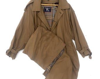 30% Off! Vintage Burberrys' Prorsum Nova Check Trench Coat