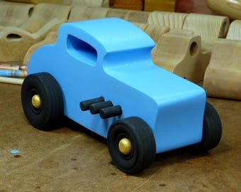 Wooden Boys Toys, Toys, Wooden Toys, Toy Race Car, Wood Toy, Wooden Toy Car, 32 Deuce Coupe, Toy Hot Rod, Toy Street Rod, Toy Dragster, Ford