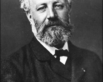 Poster, Many Sizes Available; Jules Verne