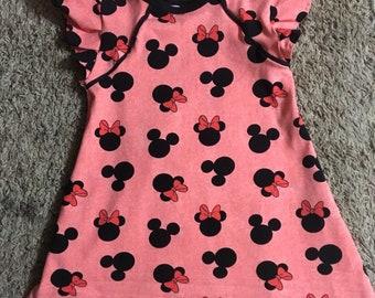 Minnie Mouse Jammie Dress