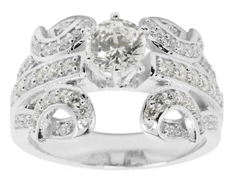 Wings Sterling Silver Women's Ring (Size 7)